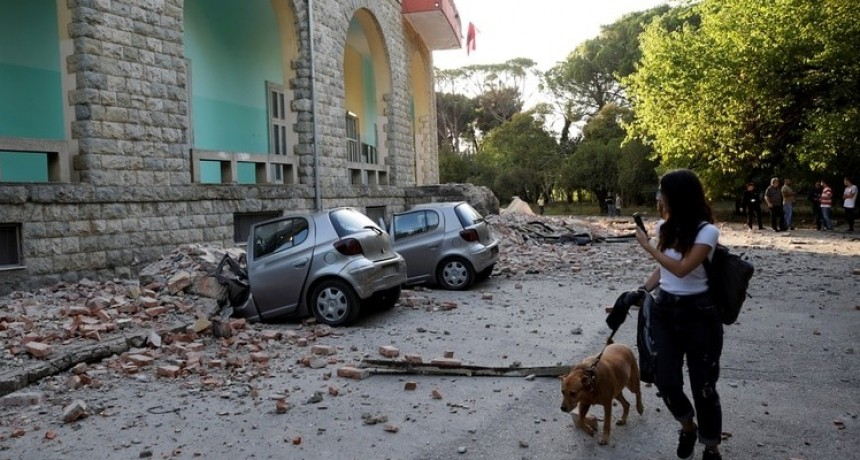 Un sismo sacudió a Albania y dejó a 26 personas heridas