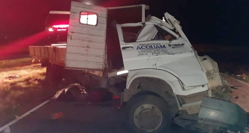 Otro choque fatal: murió un camionero