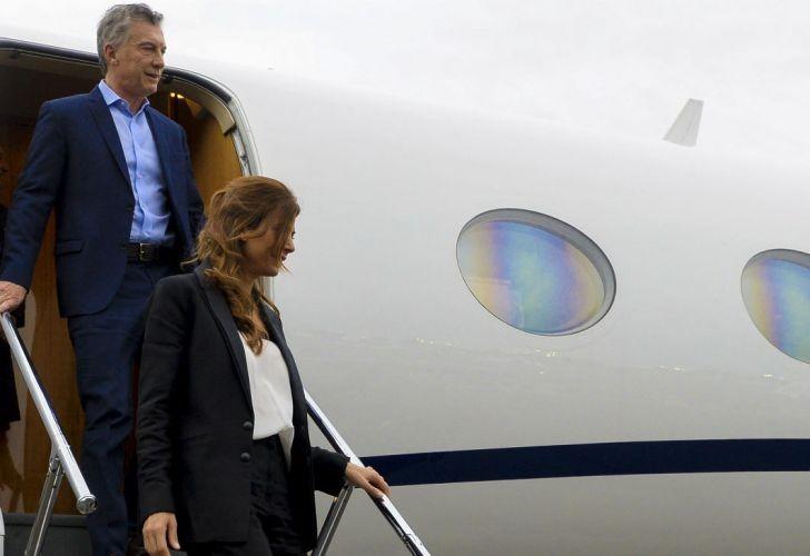 Denunciaron a Macri por usar el avión oficial para la marcha del