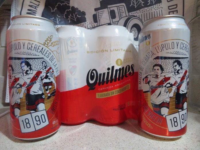 Quilmes lanzó latas edición limitada de Boca y River