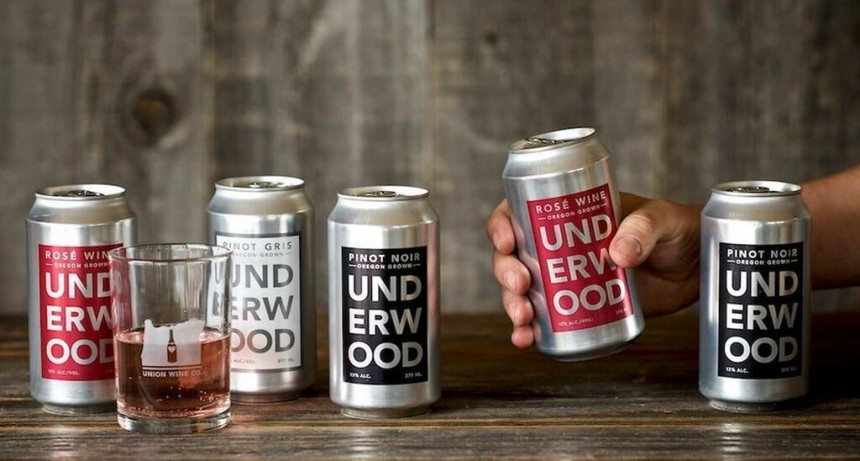 Se viene el vino en lata: aprobaron su venta en envases de acero inoxidable