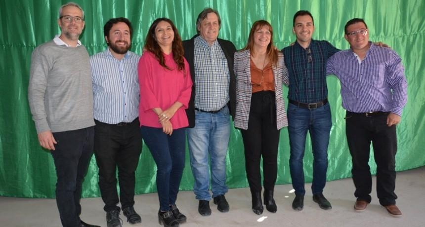 Viviana Germanier presentó sus secretarios