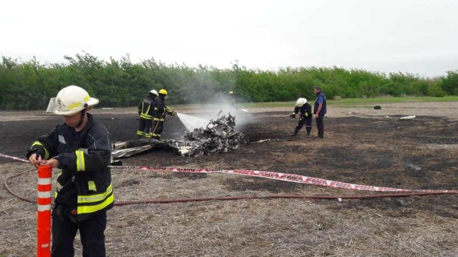 Un empresario que venía a Neuquén murió al caer una avioneta