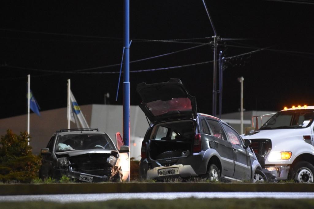 Siete heridos en un accidente sobre la Ruta 22 y la calle Mendoza, en Roca