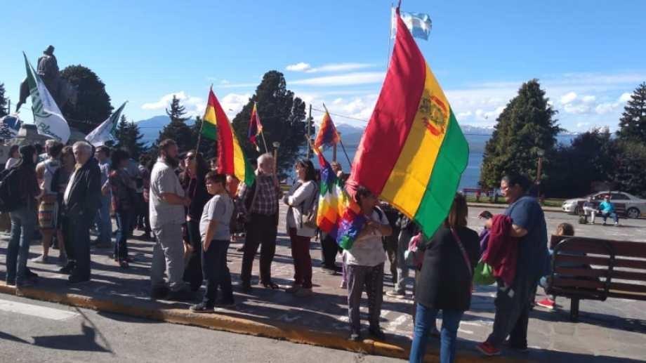 Manifestación en Bariloche contra