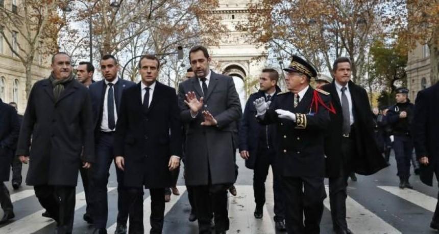 Macron promete que castigará a los violentos